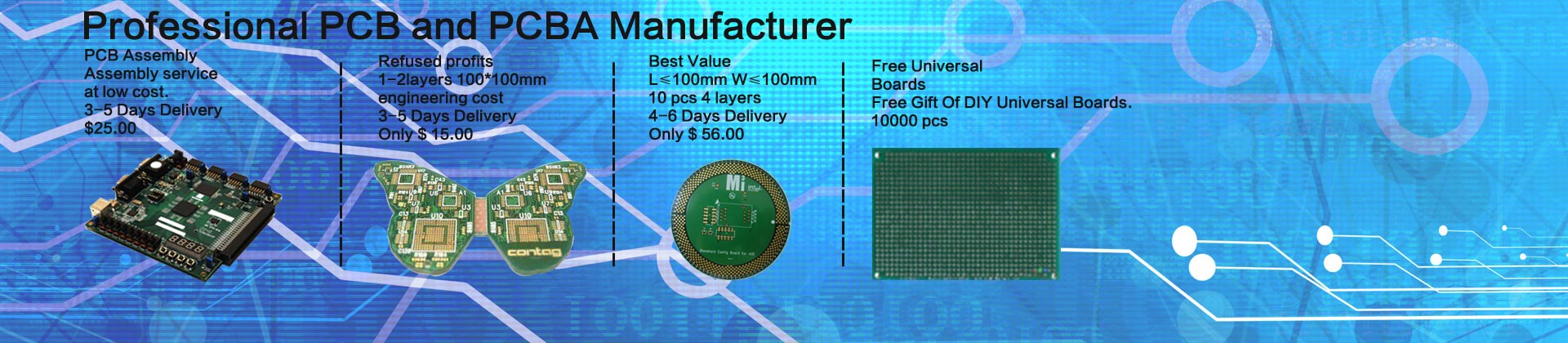 Hihong Technology Coltd Pcb Manufacturer Manufacturing Printed Blue Solder Mask Taconic Circuit Board For Contact Us